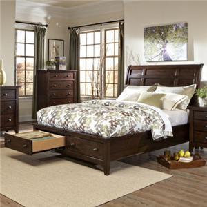 Intercon Jackson Queen Storage Bed