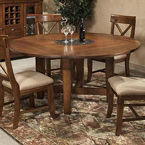 Intercon Verona Folding Leaf Dining Table