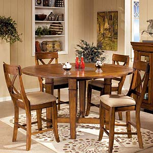 Intercon Verona Folding Leaf Gathering Table