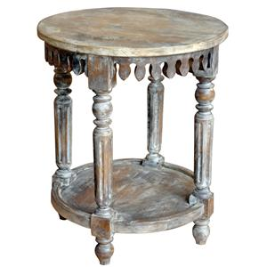 Jaipur Furniture Guru Round Side Table