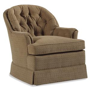Jessica Charles Fine Upholstered Accents Bedford Swivel Rocker