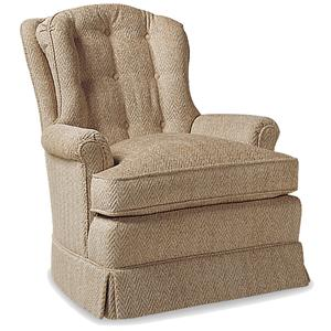 Jessica Charles Fine Upholstered Accents O'Connor Swivel Rocker