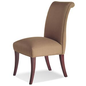 Jessica Charles Fine Upholstered Accents Sebastian Armless Chair