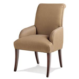 Jessica Charles Fine Upholstered Accents Sebastian Arm Chair