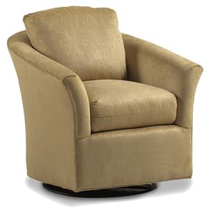 Jessica Charles Fine Upholstered Accents Payne Swivel Glider
