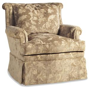 Jessica Charles Fine Upholstered Accents Sultan Swivel Glider