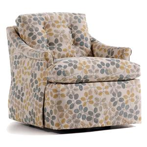 Jessica Charles Fine Upholstered Accents Mimi Swivel Rocker
