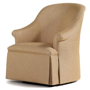 Jessica Charles Fine Upholstered Accents Lori Swivel Chair