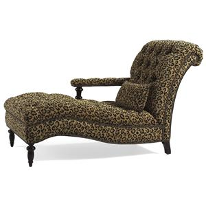Jessica Charles Fine Upholstered Accents Charlesworth Left Arm Facing Chaise