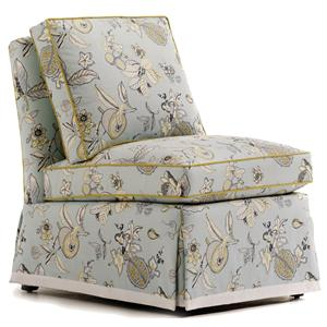 Jessica Charles Fine Upholstered Accents Brooke Skirted Chair