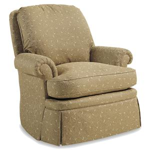 Jessica Charles Fine Upholstered Accents Holton Swivel Rocker