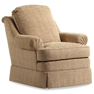 Jessica Charles Fine Upholstered Accents Fairfield Swivel Rocker