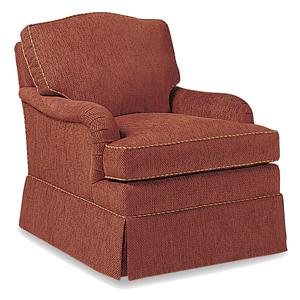 Jessica Charles Fine Upholstered Accents Moses Swivel Rocker
