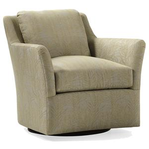 Jessica Charles Fine Upholstered Accents Addison Swivel Chair