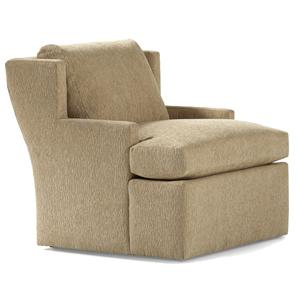 Jessica Charles Fine Upholstered Accents Wesley Swivel Chair