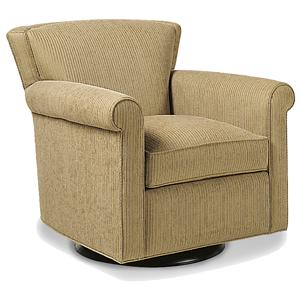 Jessica Charles Fine Upholstered Accents Montgomery Swivel Rocker