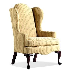 Jessica Charles Fine Upholstered Accents Jordan Wing Chair