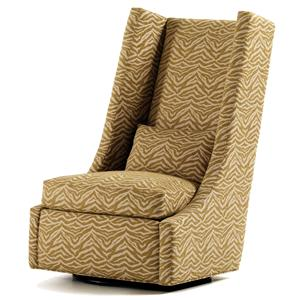 Jessica Charles Fine Upholstered Accents Redmond Swivel Chair
