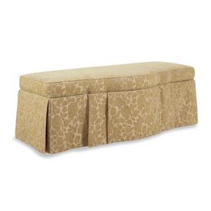 Jessica Charles Fine Upholstered Accents Storage Bench