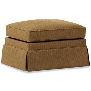 Jessica Charles Fine Upholstered Accents Storage Ottoman