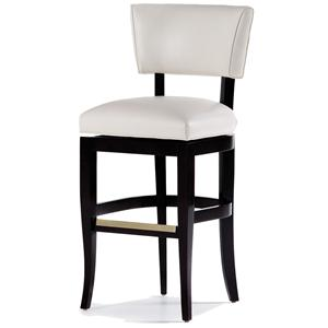 Jessica Charles Fine Upholstered Accents Maxine Swivel Barstool