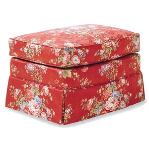 Jessica Charles Fine Upholstered Accents Alpha Ottoman