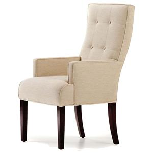 Jessica Charles Fine Upholstered Accents Baye Dining Arm Chair