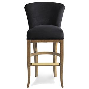Jessica Charles Fine Upholstered Accents Cameron Memory Swivel Barstool