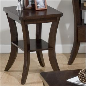 Jofran Joe's Espresso Chairside Table
