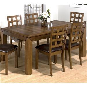 Jofran Wenatchee Falls Walnut Dining Table