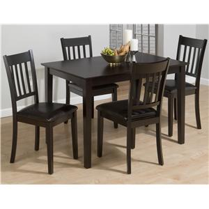 Jofran Marin County Merlot Five Pack Dining Set