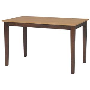 John Thomas Dining Essentials Contemporary Rectangular Dining Table