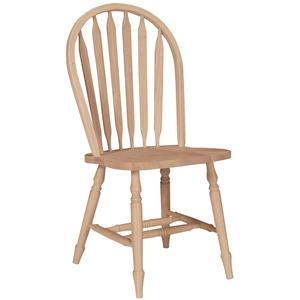 John Thomas SELECT Dining Arrowback Windsor Chair with Turned Legs