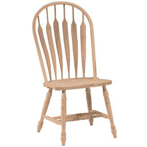 John Thomas SELECT Dining Deluxe Steambent Windsor Chair