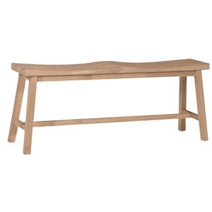 John Thomas SELECT Dining Saddle Seat Bench
