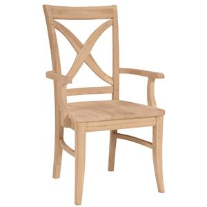 John Thomas SELECT Dining Vineyard Arm Chair