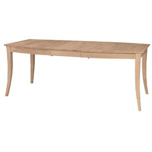 John Thomas SELECT Dining Vineyard Butterfly Leaf Table