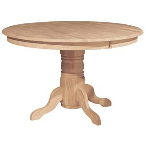 "John Thomas SELECT Dining 48"" Round Pedestal Table"