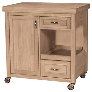 John Thomas SELECT Dining 2-Drawer 1-Door Kitchen Work Center