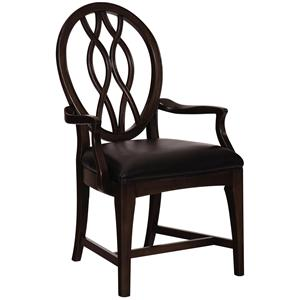 Kincaid Furniture Alston Arm Chair Leather