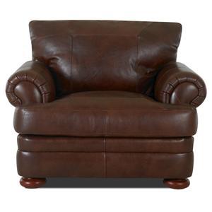 Klaussner Montezuma Leather Chair
