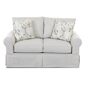 Klaussner Brook Upholstered Loveseat