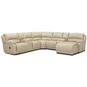 Klaussner Charmed Seven Piece Sectional