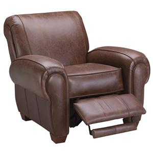 Klaussner Cigar Upholstered Reclining Chair