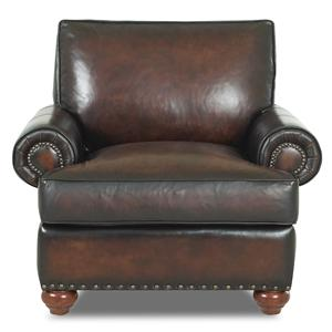 Klaussner Ellington  Leather Chair