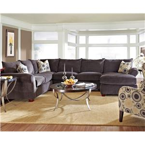 Klaussner Fletcher Sectional Sofa