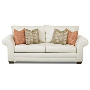Klaussner Holly Contemporary Air Coil Mattress Sleeper Sofa