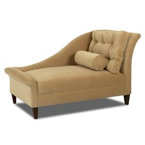Klaussner Chairs and Accents Left Arm Facing Chaise Lounge