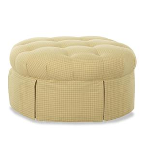 Klaussner Chairs and Accents Jessica Ottoman
