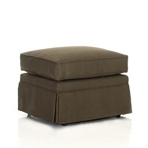 Klaussner Chairs and Accents Carolina Ottoman